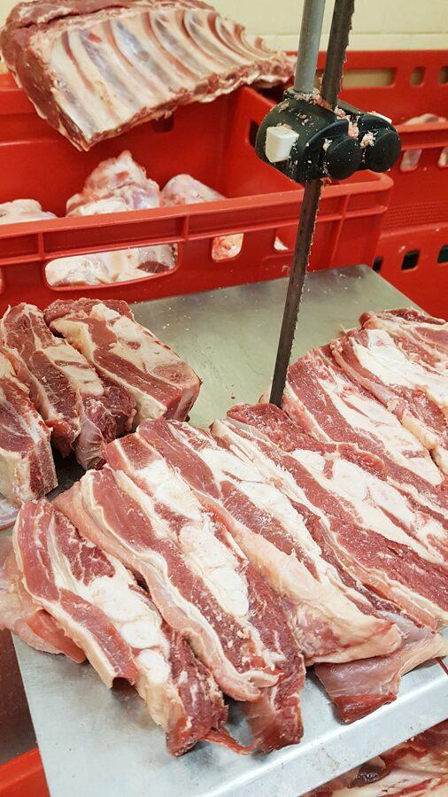 Грудинка с косточкой говядина