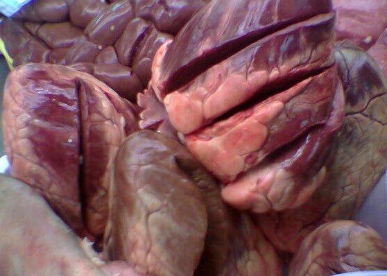 Сердце говядина (заморозка)